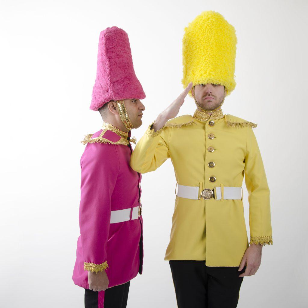 דמויות שטח משמר המלכה איתמר שחקנים